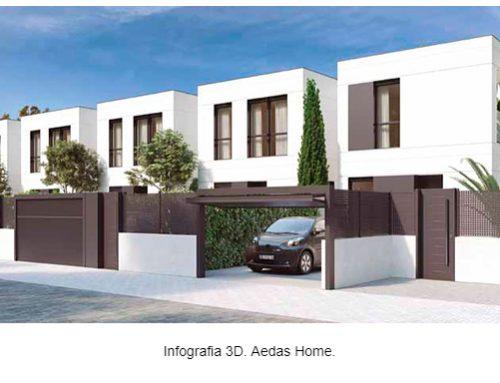 Ya esté en el mercado una promoción de casas industrializadas y con certificación BREEAM