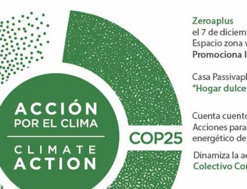 APORTACIÓN DE ZEROAPLUS A LA COP 25 CON GRUPO DINAMIZADOR COLECTIVO COMECOCO